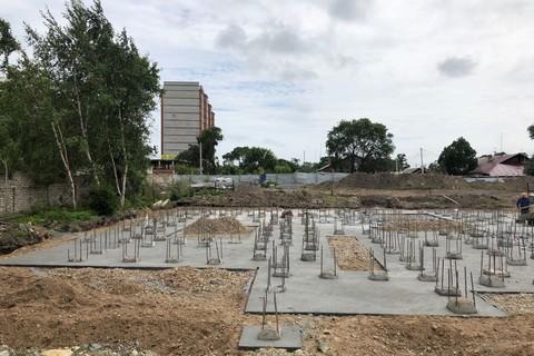 """Ход строительства: ЖК """"Адмирал"""", Июль 2019"""
