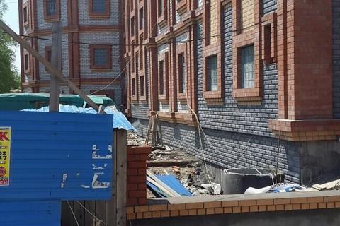 Ход строительства: Гараж-стоянка, Май 2015