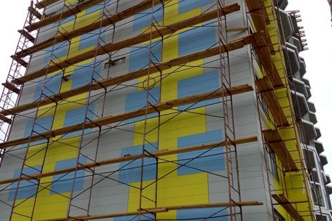 Ход строительства: Первомайская, Август 2015