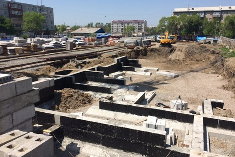 Ход строительства: Плеханова, Май 2016