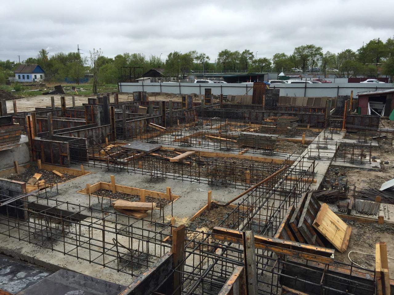 Ход строительства: Первомайская, Май 2015