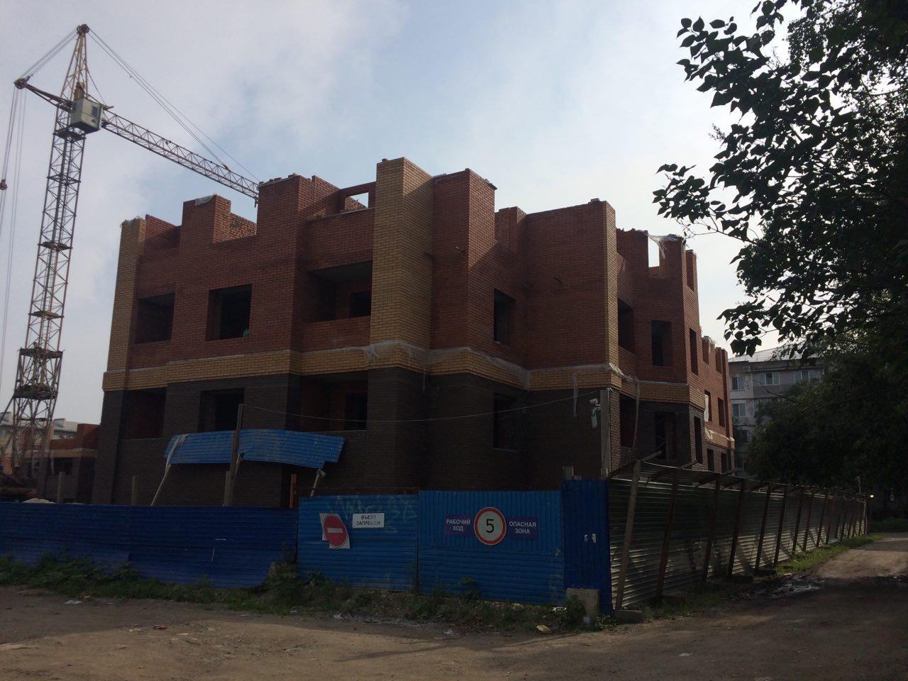 Ход строительства: Плеханова, Август 2016