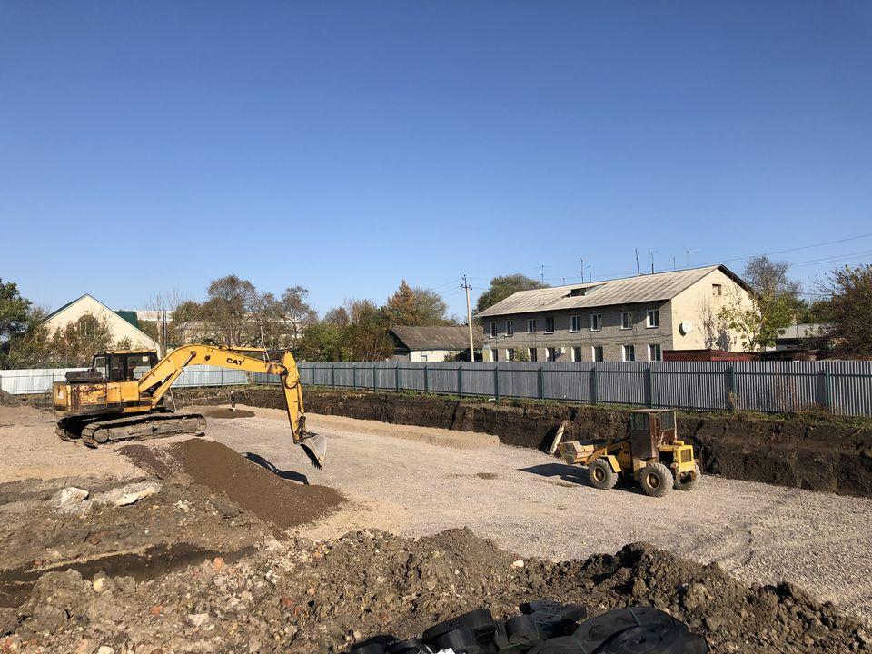 Ход строительства: Черниговка, Юных Пионеров, Сентябрь 2019