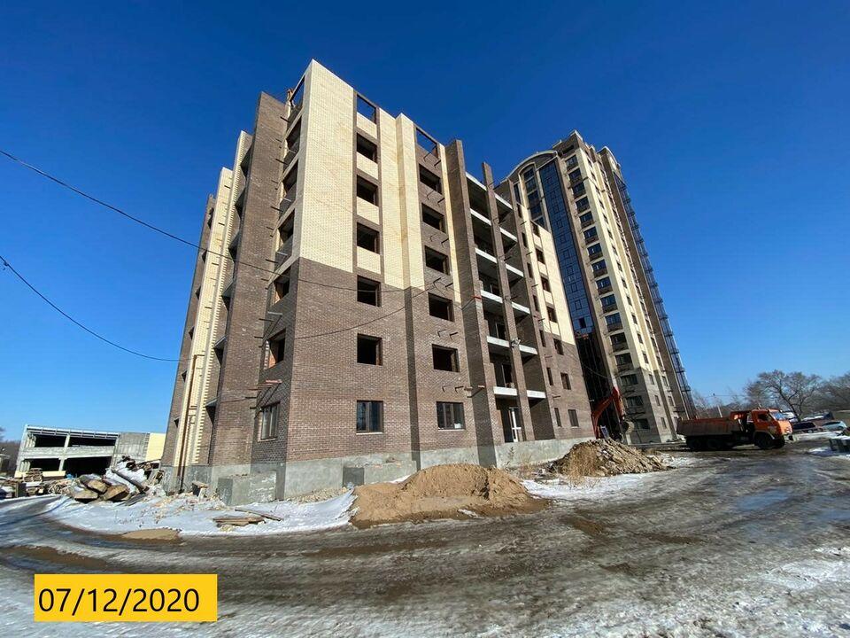 """Ход строительства: ЖК """"Адмирал"""", декабрь 2020"""
