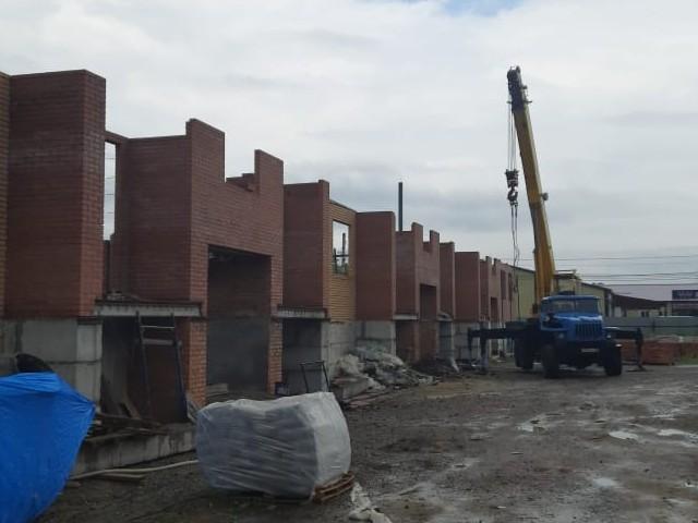 Ход строительства: с. Черниговка, Ленинская, д. 67-А, июль 2021