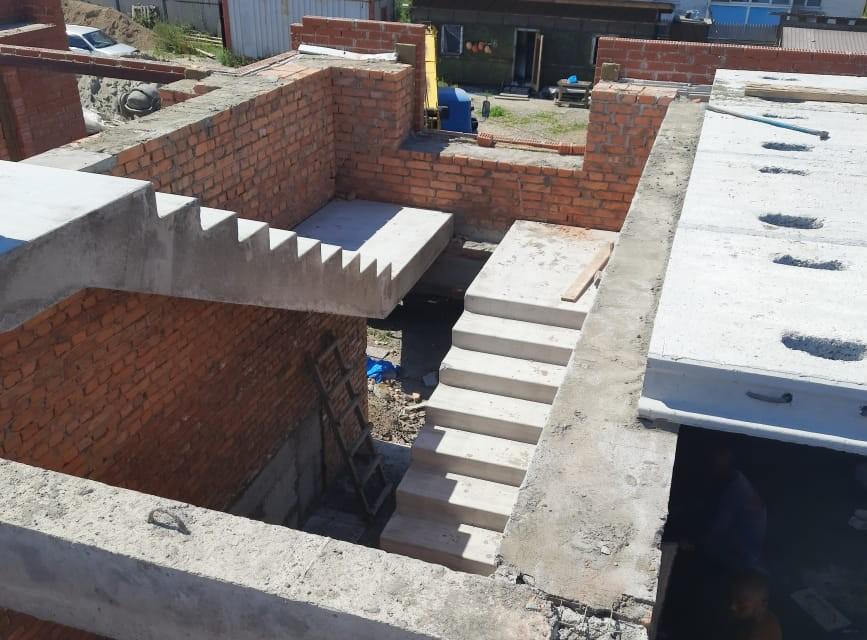 Ход строительства: с. Черниговка, Ленинская, д. 67-А, августа 2021